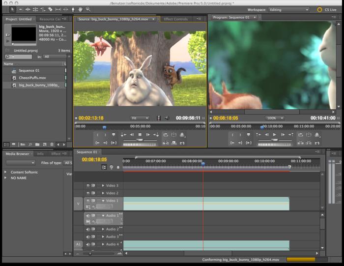 Videotutorial de Adobe Premiere para principiantes