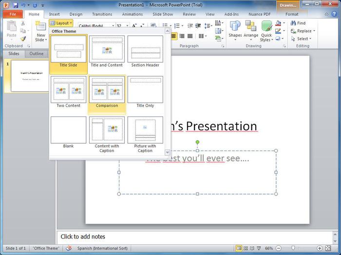 Curso online de MS PowerPoint 2010