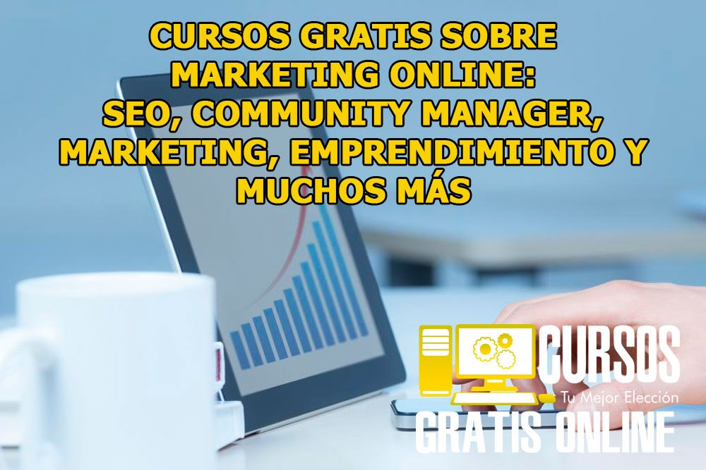 Cursos gratis de Marketing Online